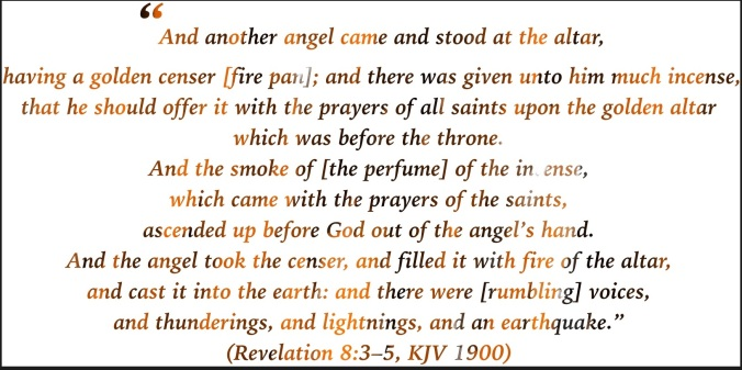 Rev 8:3-5